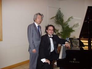 With Koizumi San